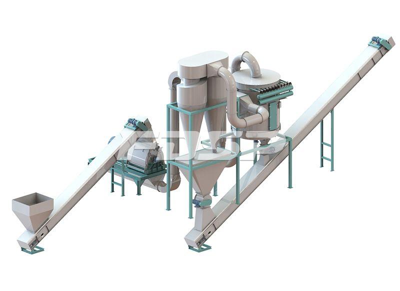 时产2.5-3.5吨边角料制粒生产线