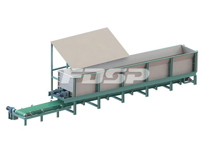 时产5-7吨原木制粒生产线