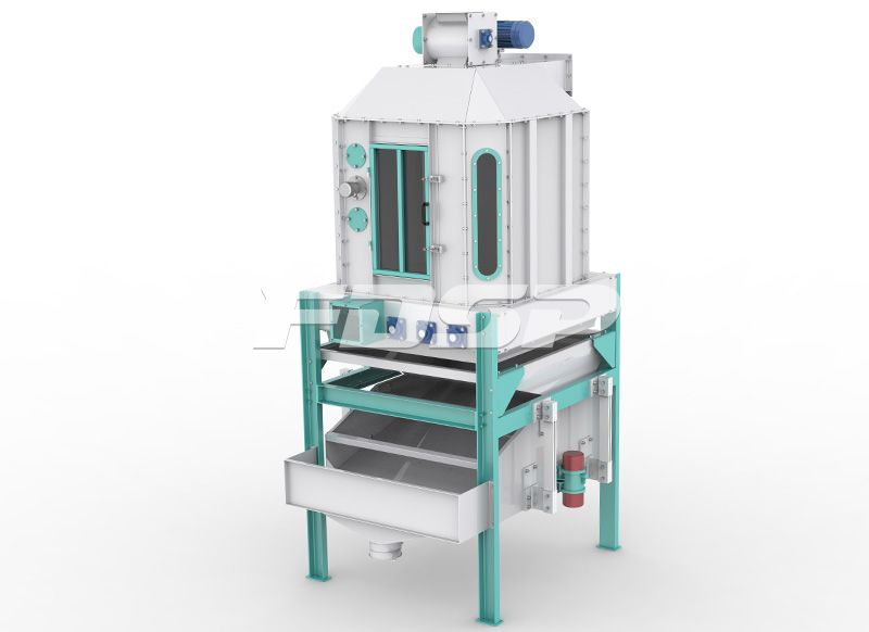SBSZ 系列摆式冷却筛