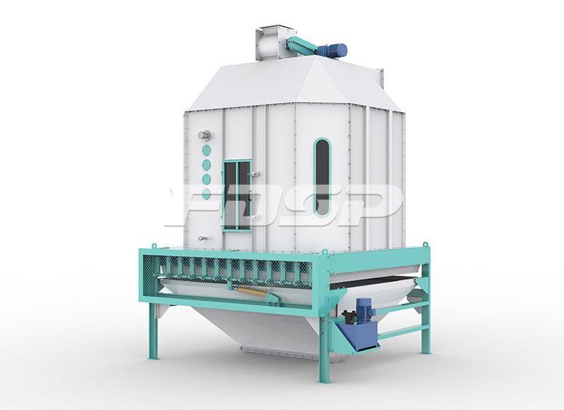 饲料颗粒冷却设备SKLB系列摆式冷却器