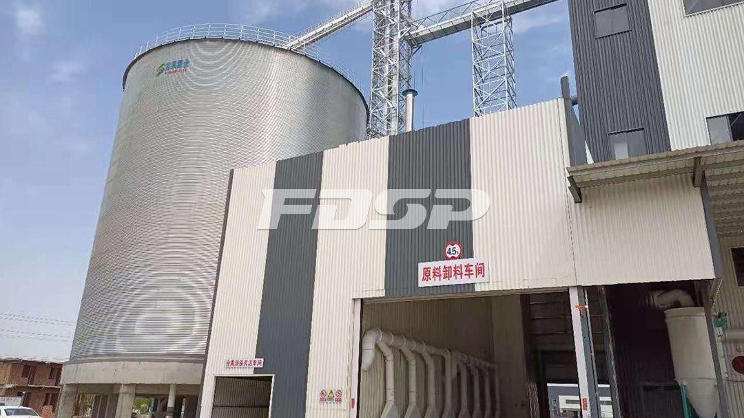 临沂保税区时产80吨玉米深加工生产线