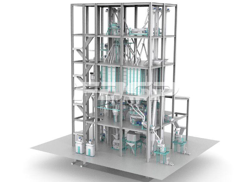 双线SZLH420(时产15吨)普通水产饲料