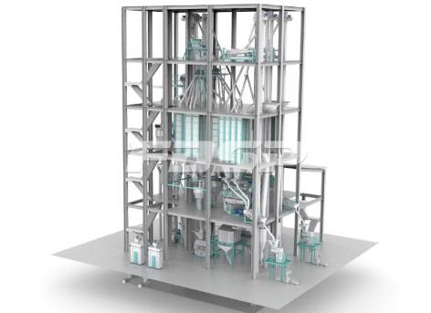 双线SZLH420(时产15吨)普通水产饲料生产线