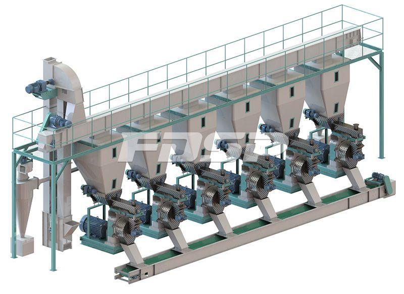 <b>时产15吨原木制粒生产线</b>