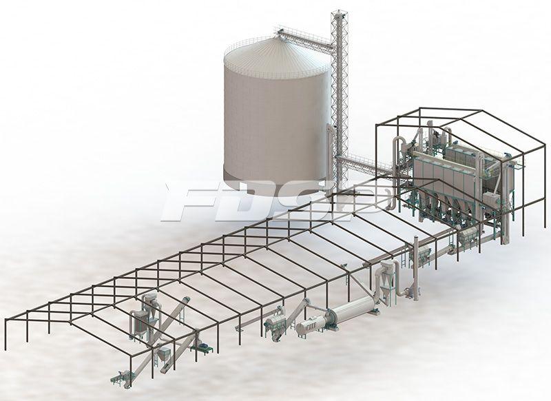 <b>时产10吨边角料制粒生产线</b>
