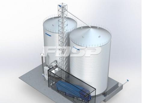 饲料行业1-2000T&1-3000T玉米仓工程