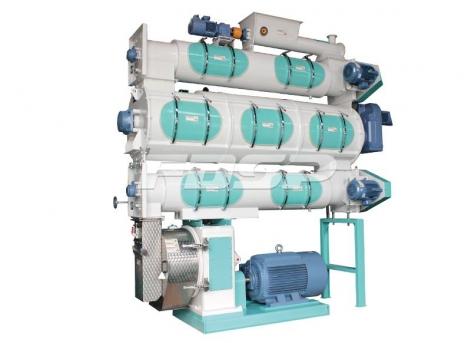饲料机械SZLH508b3系列高档水产养殖饲料颗粒机