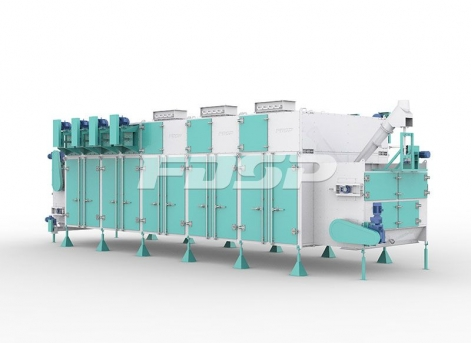 饲料机械SHGW系列卧式环流烘干机
