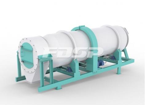 饲料颗粒喷涂机SYPG系列滚筒油脂喷涂机