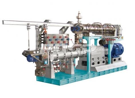 水产饲料膨化机SPHS系列双螺杆湿法膨化机
