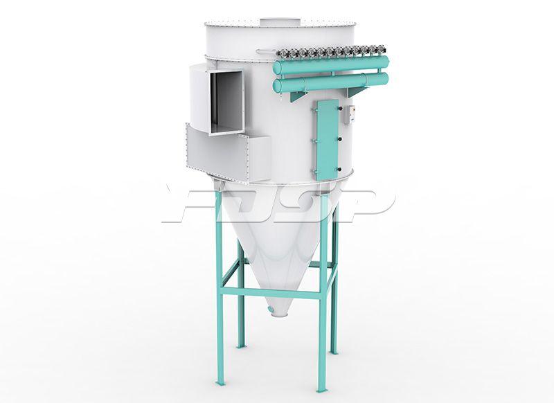 饲料清理设备TBLMy系列圆筒脉冲除尘器