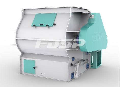 饲料原料混合SHSJ系列双轴高效混合机